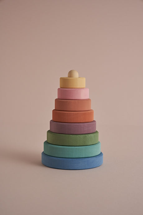 Stacking Tower in Pastel