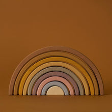 Load image into Gallery viewer, Giant Wooden Arch Stacker in Desert Rainbow - Your Little Dove