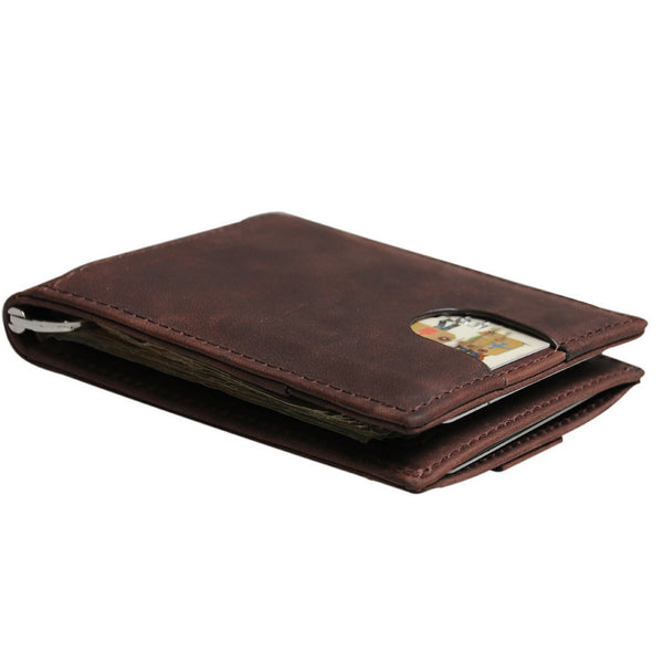 Harpeth Trading Slim RFID Blocking Genuine Leather Wallet