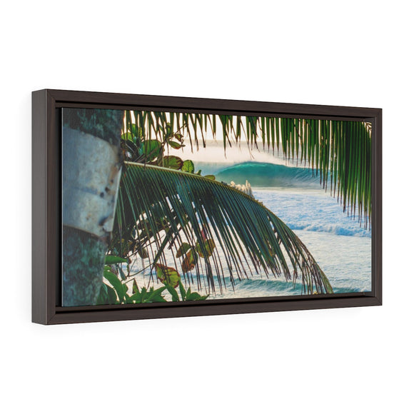 Pipeline Wavescapes© Premium Framed Canvas by H2OH SHOP. Made in USA