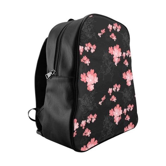 Samurai Cherry Blossom Backpack by H2OH SHOP