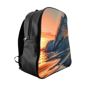 Sunrise Wave Backpack by H2OH SHOP