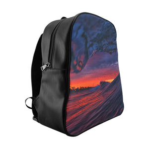 Purple Haze Wave Backpack by H2OH SHOP