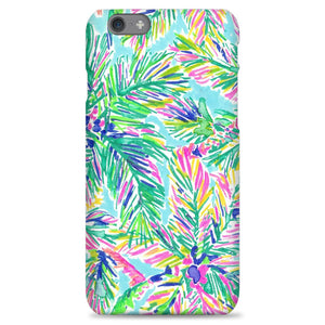 finest selection f65bb a3d75 Island Time Palm Art Lilly Pulitzer iPhone 6 Plus|6S Plus Case | Naylacase