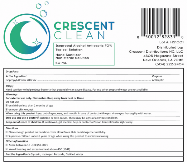 Crescent Clean Hand Sanitizer