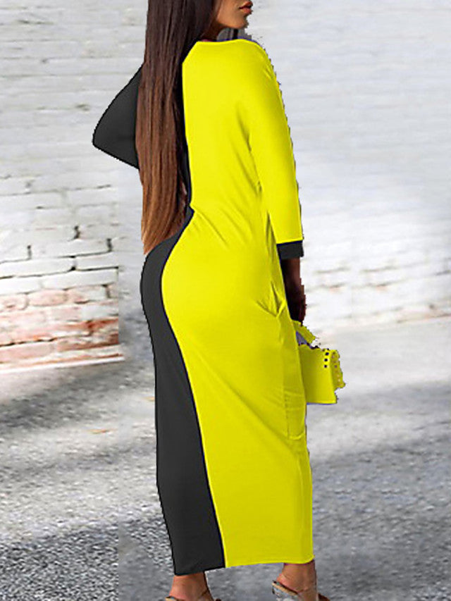 The Frenze- The 2020 Bold & Bright Maxi Dress