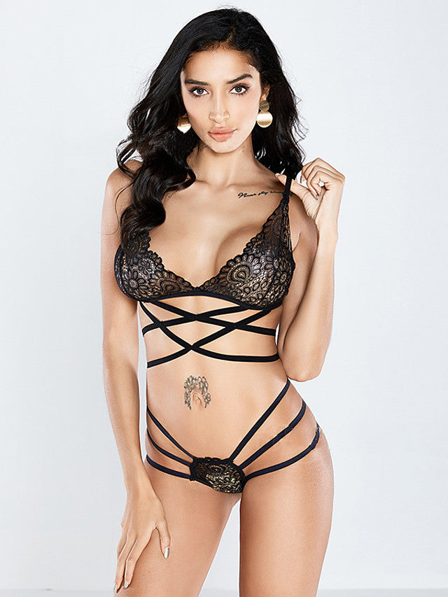 The Frenze- Lace The Party Bra & Panty Set