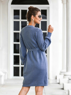 The Frenze- Autumn 2020 Bowed Sweater Dress