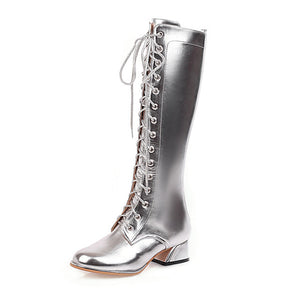 The Frenze - A Metallic Classic Boots