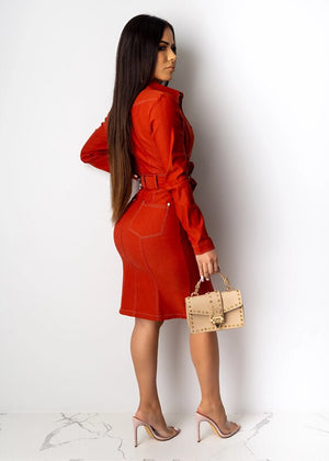 The Frenze - 2020 WInter Fashion Bandage Vintage Dress