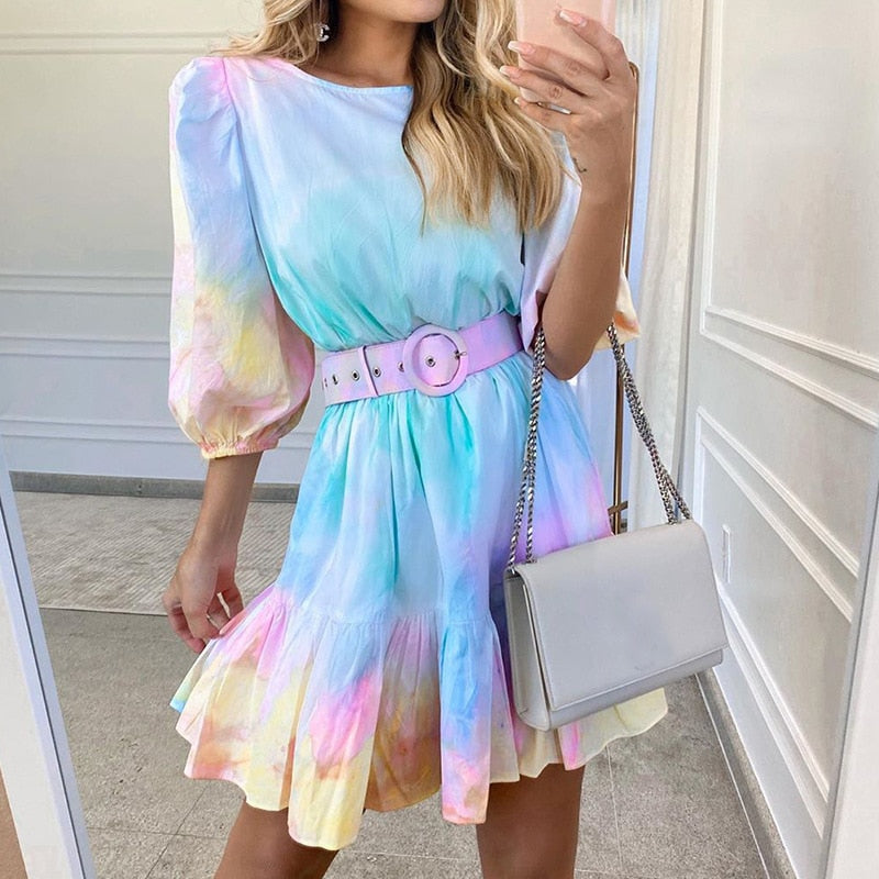 The Frenze - A Sweet Ombre Boho Dress