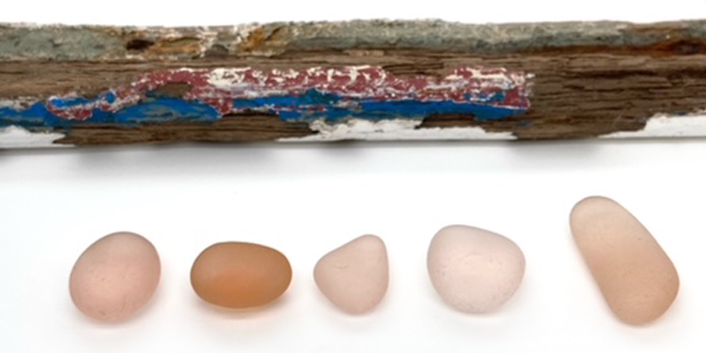 Where does Pink Seaglass come from?