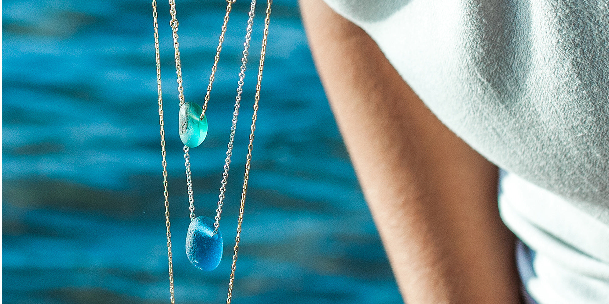 Our Seaglass Jewellery - Inspired by the Ocean
