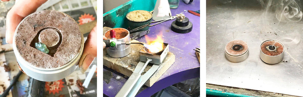 kriket broadhurst jewellery making sand casting