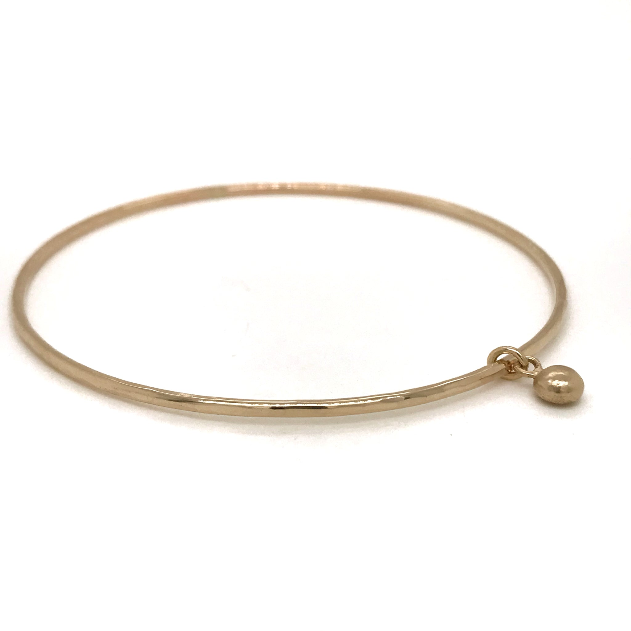 solid gold charm bangle kriket broadhurst jewellery Sydney