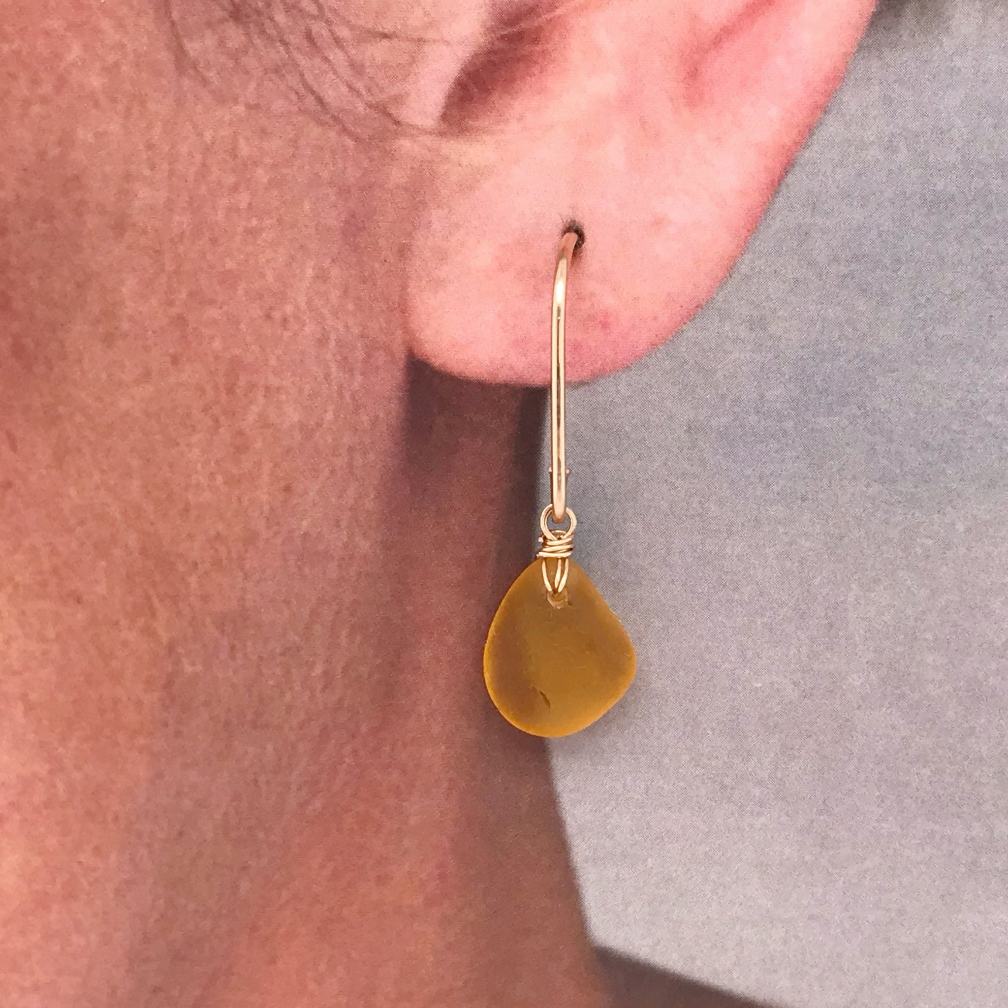 amber seaglass earrings kriket broadhurst Christmas gifts for women Sydney