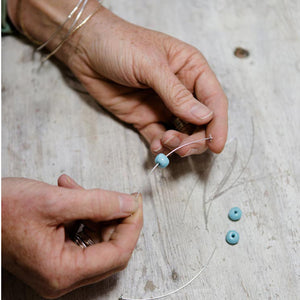kriket broadhurst making ceramic beads for jewellery