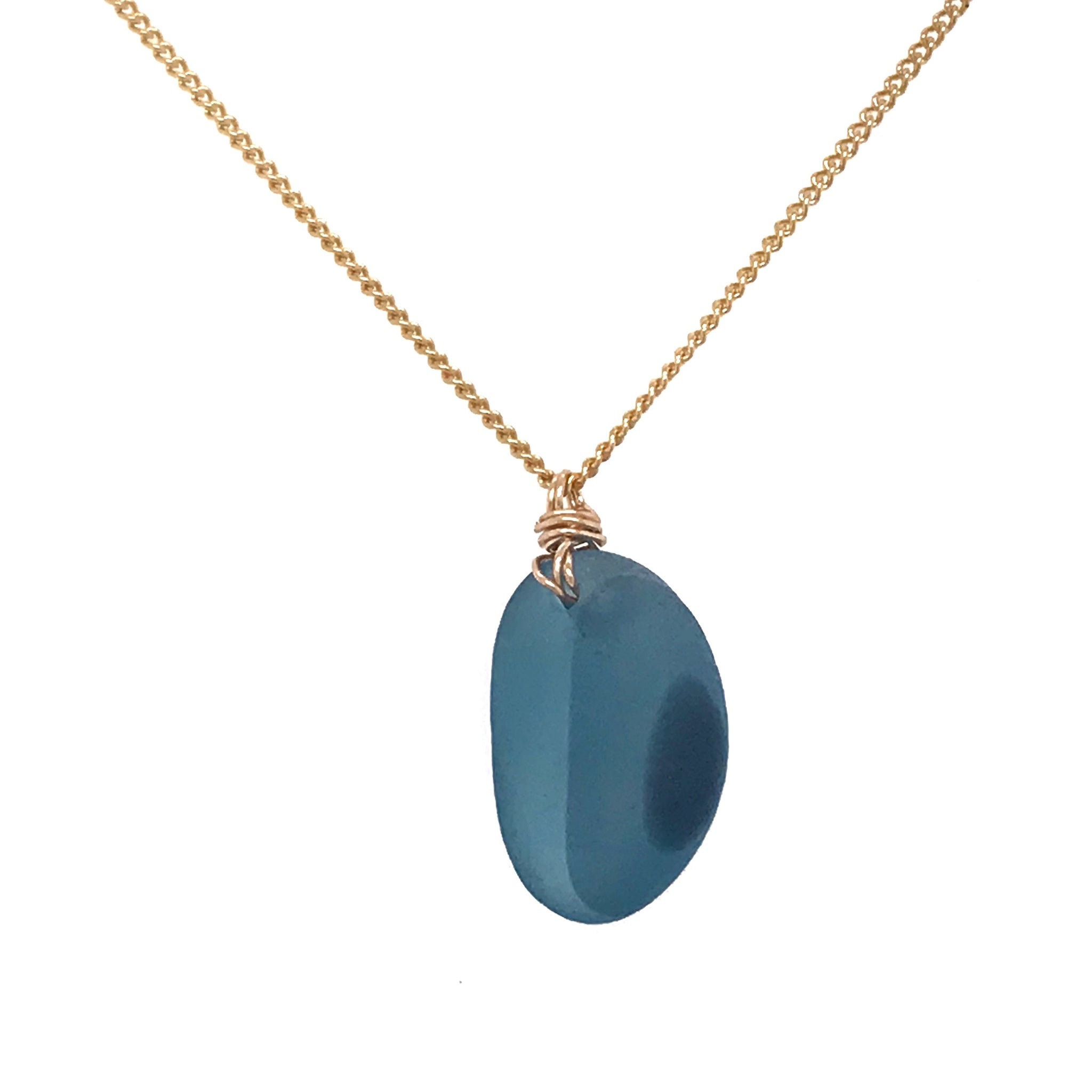 cobalt-blue-multi-sea-glass-necklace-gold-chain-kriket-broadhurst-christmas-gifts-sydney
