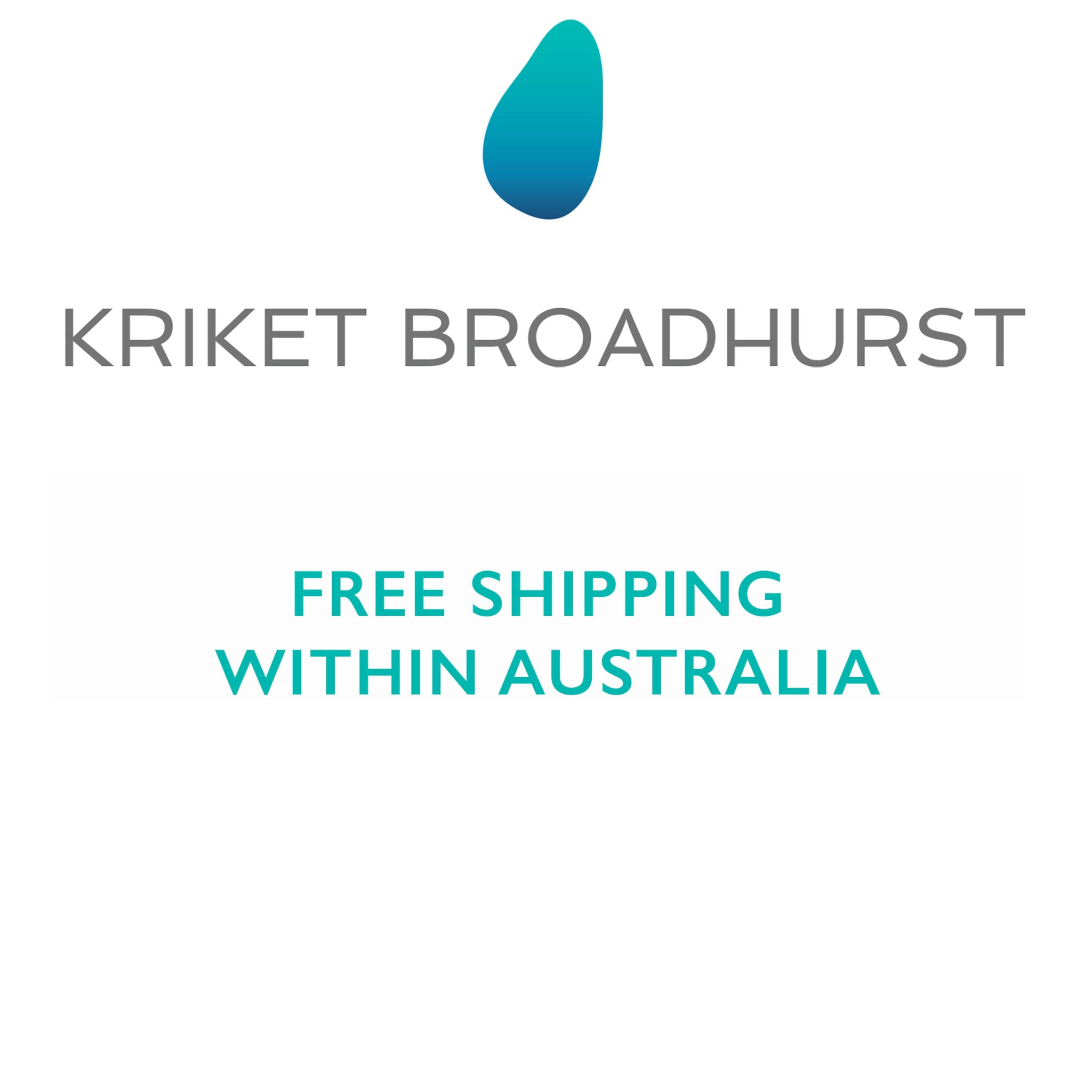 kriket broadhurst jewellery free shipping in Australia