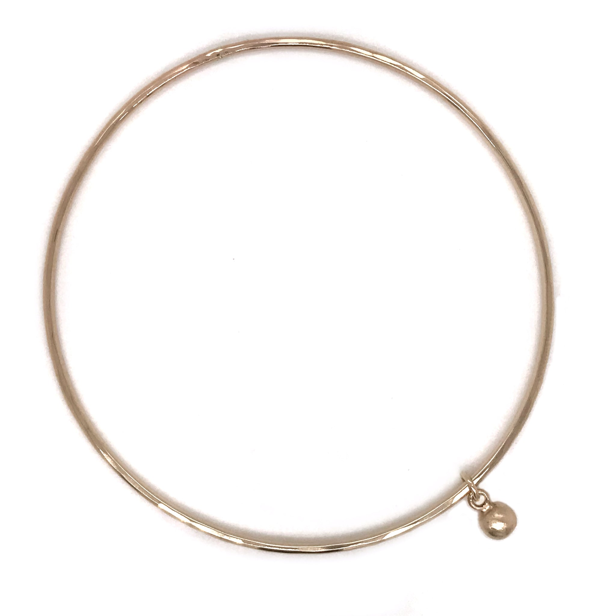 gold bangle with pebble charm kriket broadhurst christmas gifts for women Sydney