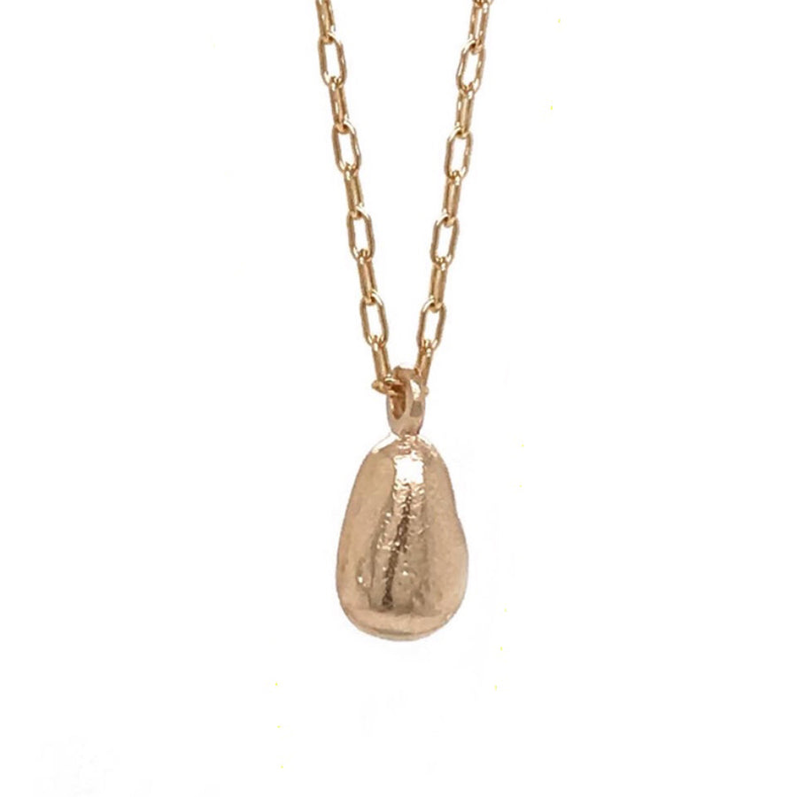 gold necklace with teardrop charm kriket broadhurst anniversary gift Sydney