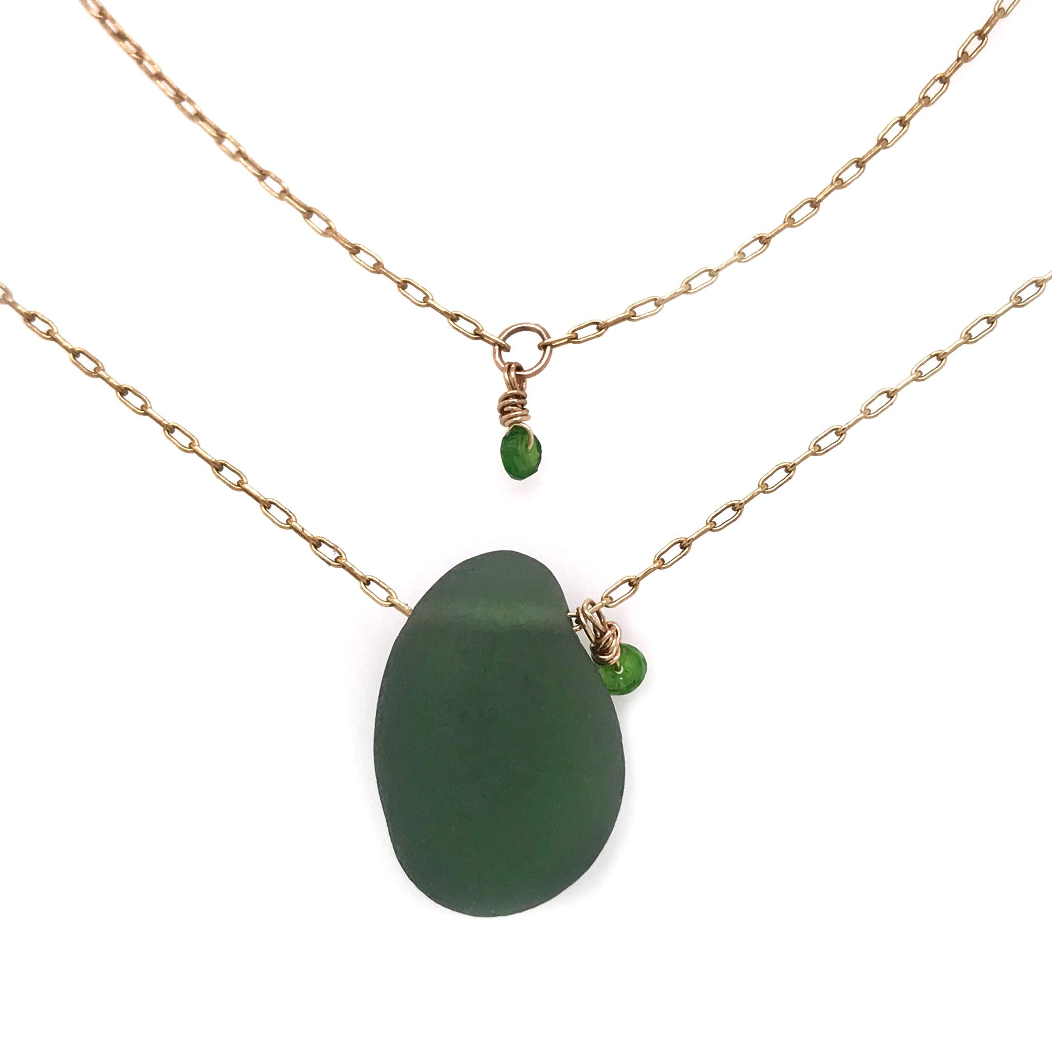green and gold chain kriket broadhurst jewellery