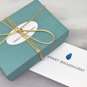 kriket broadhurst jewellery gift voucher box