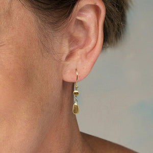 Gold Chandelier Drop Earrings