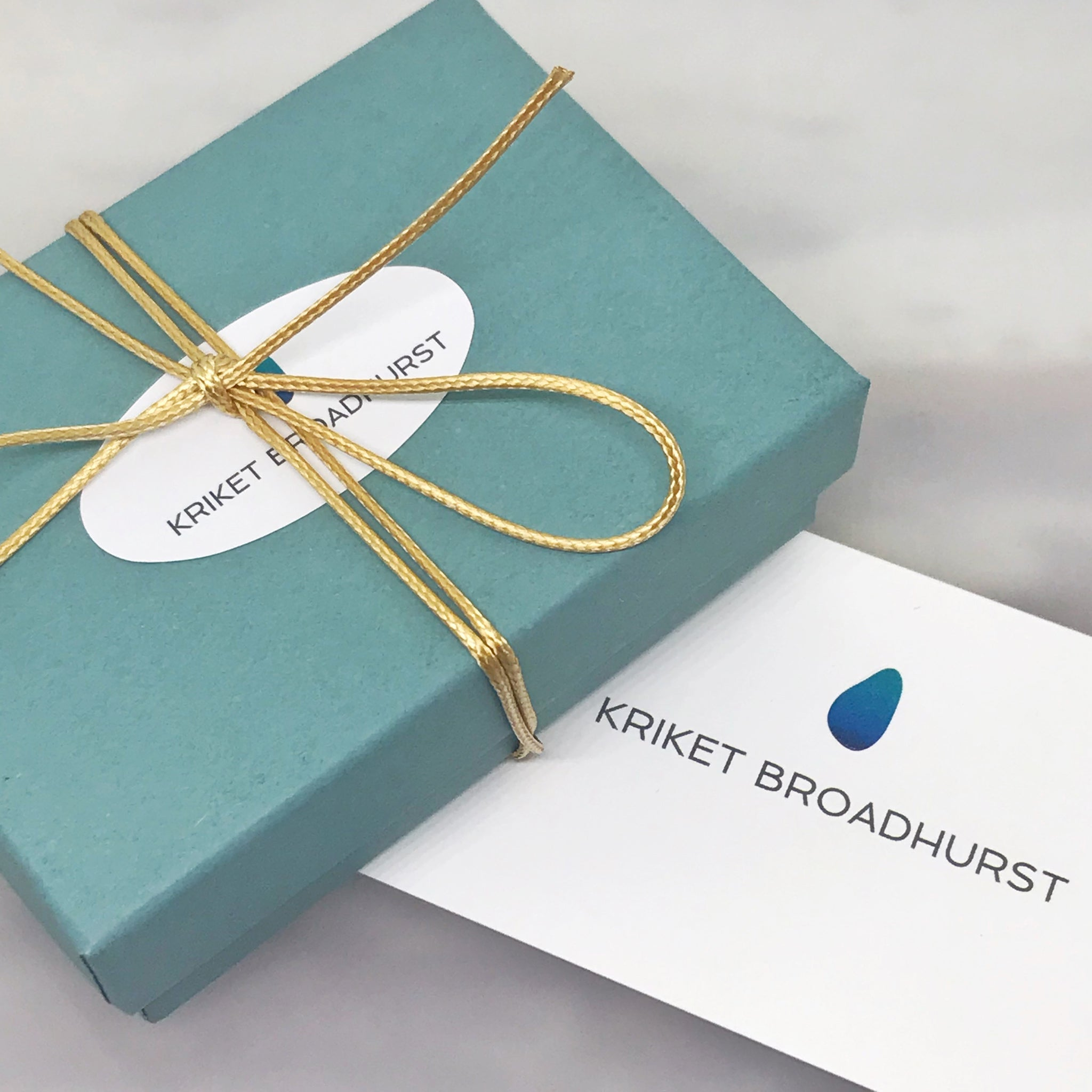 kriket broadhurst jewellery gift box