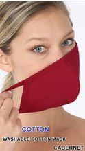 Load image into Gallery viewer, Colored Cotten Face Masks (5 Colors)