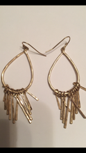 Load image into Gallery viewer, Teardrop Dangle Earrings (Silver or Gold)