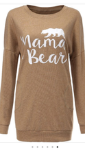 Load image into Gallery viewer, Mama Bear Sweatshirt/Sweater (3 colors)