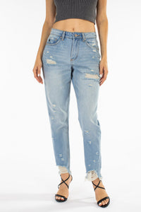 The Mom Fit Denim