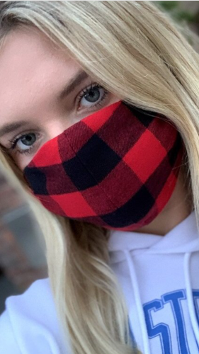 Buffalo Plaid Non Medical Face Mask
