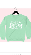 Load image into Gallery viewer, Mint St Patrick's Day Sweatshirts 🍀(2 Styles)