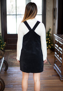 Black Overall Dress