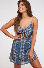 Load image into Gallery viewer, Blue Lace Dress