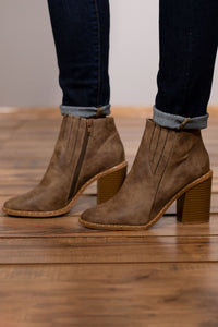 Beige with Attitude Bootie