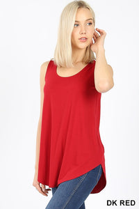 Scoop Neck Tank (2 Colors)
