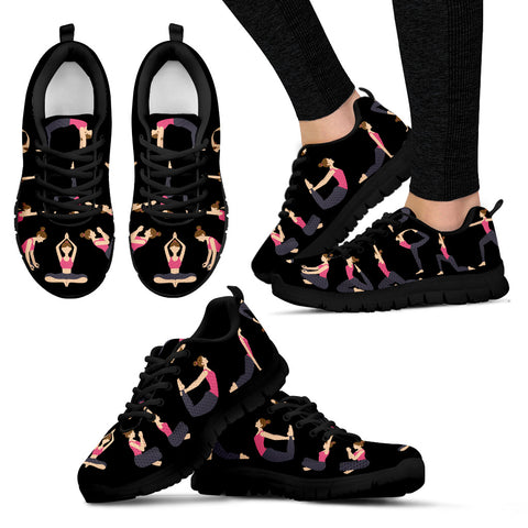 Yoga Women's Sneakers - 5 Colors