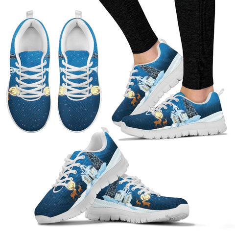Night Christmas Women's Sneakers