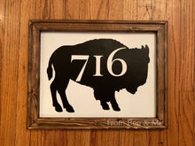 Load image into Gallery viewer, 716 Buffalo Sign