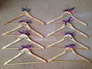 Bridal Party Hangers