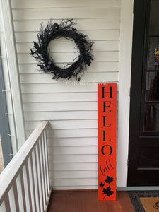 Double Sided Porch Sign