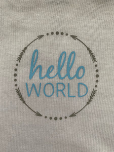 Hello World Onesie