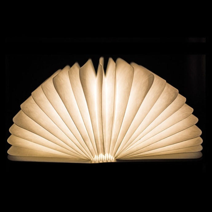 Creative Wooden LED Night Light