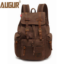 Load image into Gallery viewer, AUGUR Vintage Canvas Bag
