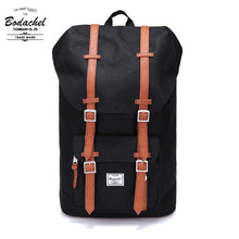 Load image into Gallery viewer, Bodachel Brown Strap Backpack