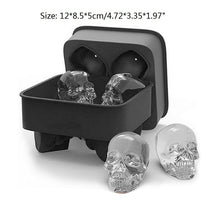 Load image into Gallery viewer, Skull 3D Ice Mold