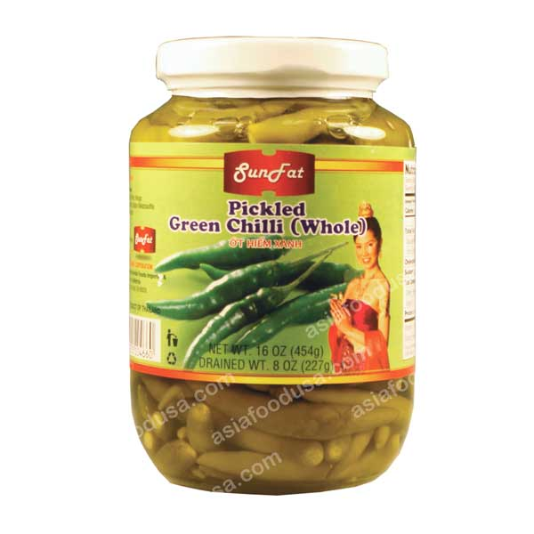 SF Pickled Whole Green Chili